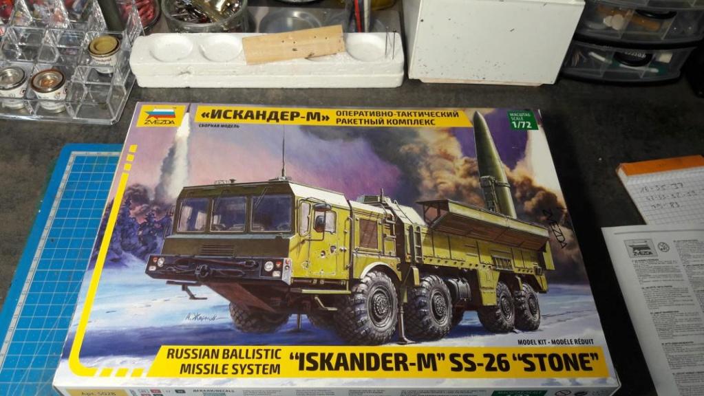 "Ouvre boite ""Iskander-M"" SS-26 ""Stone"" de chez Zvezda au 1/72 150"
