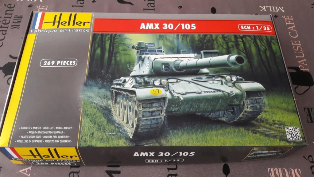 Ouvre boite AMX 30/105 de chez Heller au 1/35ème 153