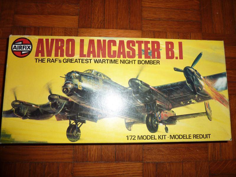 1/72 Airfix Avro Lancaster B I 154