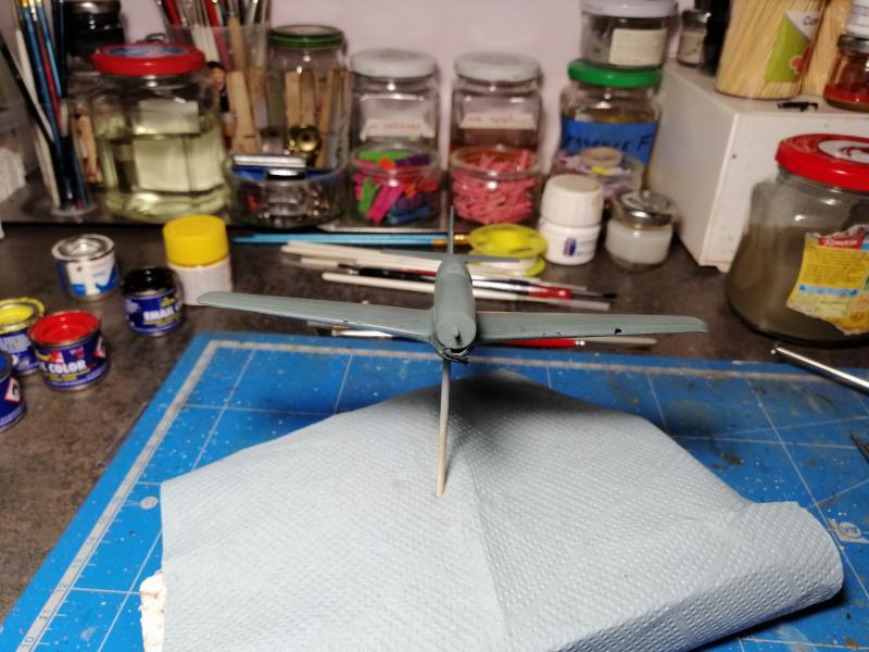 P-51B Mustang de chez Revell au 1/72 FINI !!!!! 1540
