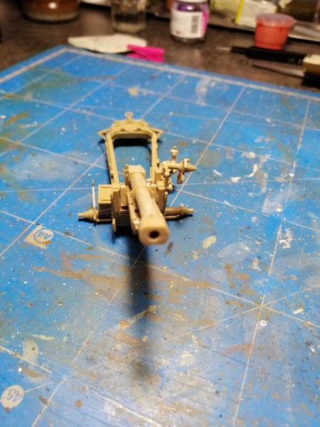 British 25 PDR. Field Gun & Quag Gun Tractor Canadian Ford F.G.T. Tamiya  1/35 1553
