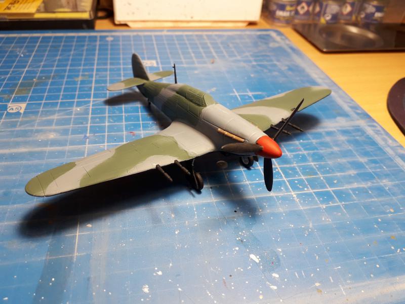 PK -11 Hawlker Hurricane IIC 1/72 Matchbox FINI!!!!!!! 1714