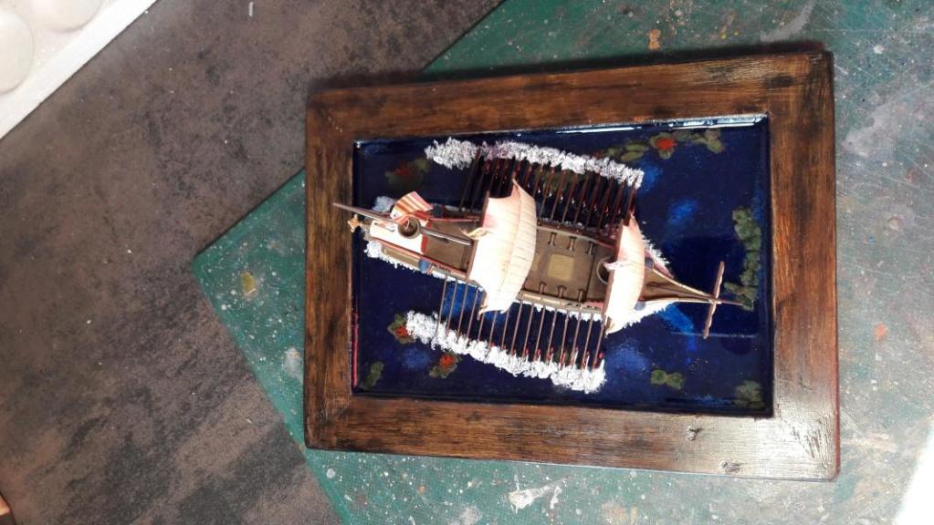 petite scénette galion espagnol 1/450 1722