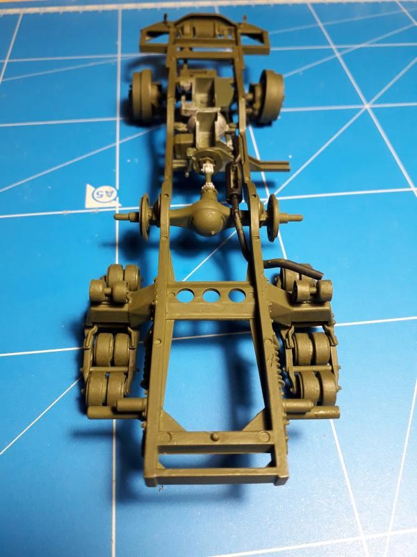U.S. Multiple Gun Motor Carriage M16 1/35 Tamiya  FINI !!!!!!!! 1812