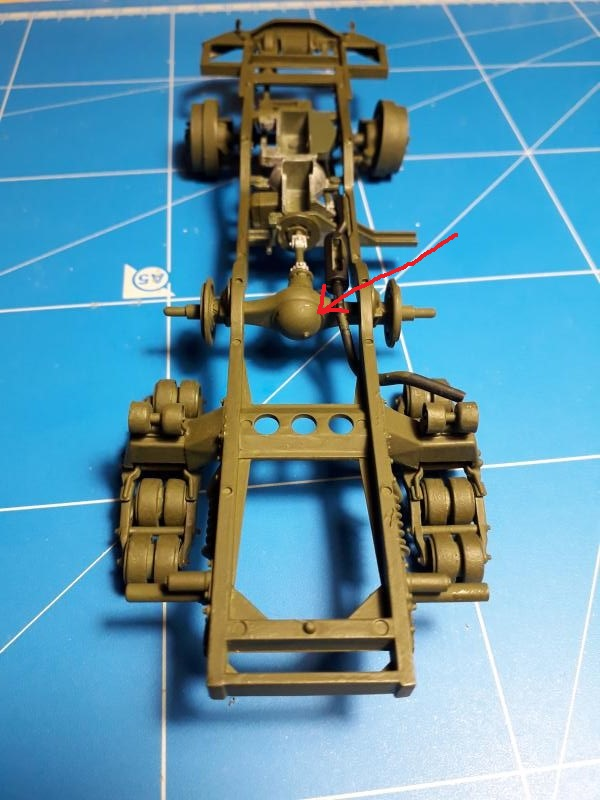 U.S. Multiple Gun Motor Carriage M16 1/35 Tamiya  FINI !!!!!!!! 1813