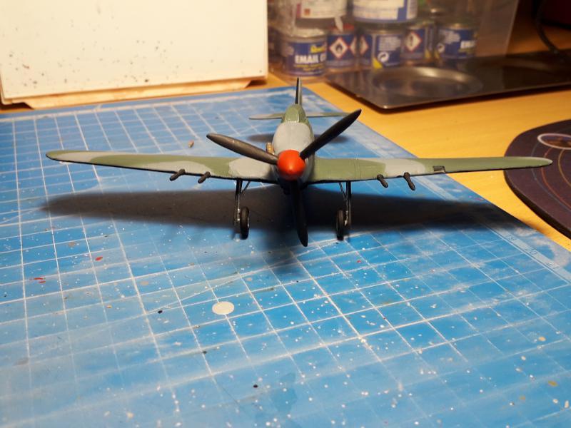 PK -11 Hawlker Hurricane IIC 1/72 Matchbox FINI!!!!!!! 1815