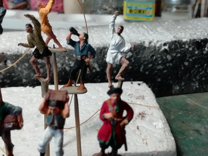 Equipage pirates 1/72 FINI!!!!!! 1821