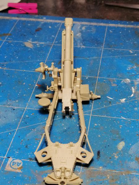 British 25 PDR. Field Gun & Quag Gun Tractor Canadian Ford F.G.T. Tamiya  1/35 1854