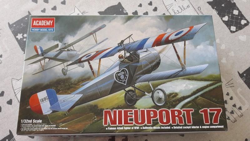 Nieuport 17 de chez academy au 1/32 187