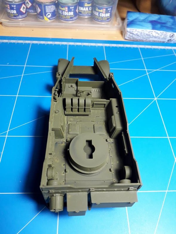 U.S. Multiple Gun Motor Carriage M16 1/35 Tamiya  FINI !!!!!!!! 1912