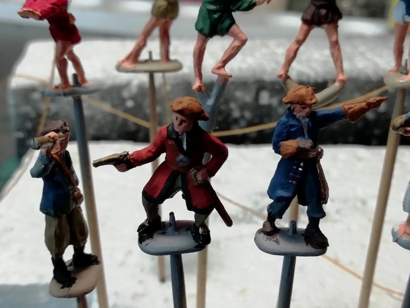 Equipage pirates 1/72 FINI!!!!!! 1918