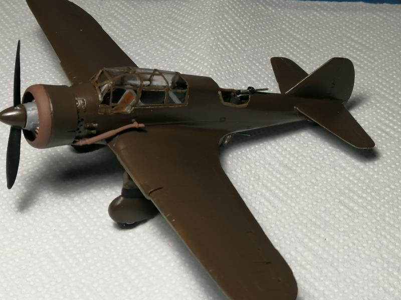 PZL 23B Karas 1/72 Mistercraft FINI!!!!!!!!!!!!! 1941