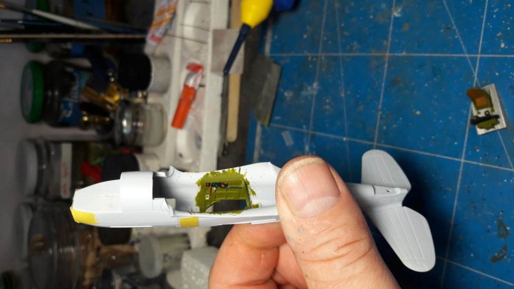 Curtiss Tomahawk Mk.IIB 1/72 de chez Airfix Avec son socle FINI!!!!!!! 2023