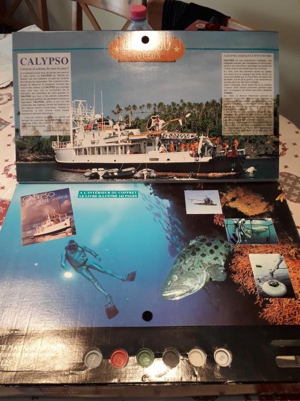 L'ouvre boite de la Calypso Revell 1/125 210