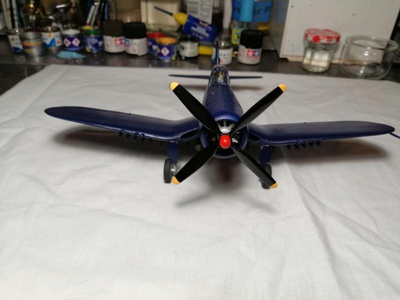 CORSAIR AU-1 Heller 1/48 FINI !!!!!! 2136