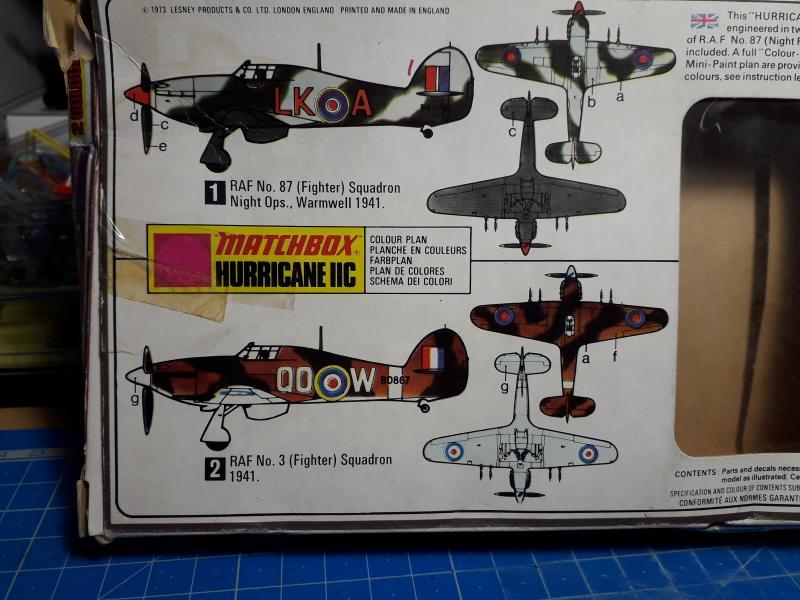 PK -11 Hawlker Hurricane IIC 1/72 Matchbox FINI!!!!!!! 216