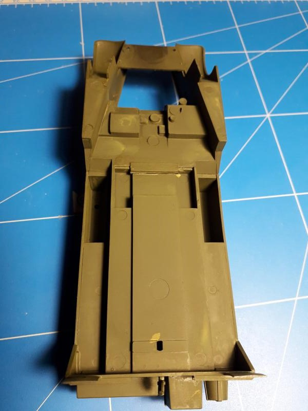 U.S. Multiple Gun Motor Carriage M16 1/35 Tamiya  FINI !!!!!!!! 2210