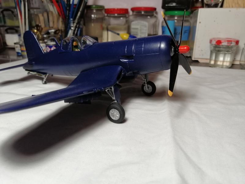 CORSAIR AU-1 Heller 1/48 FINI !!!!!! 2236