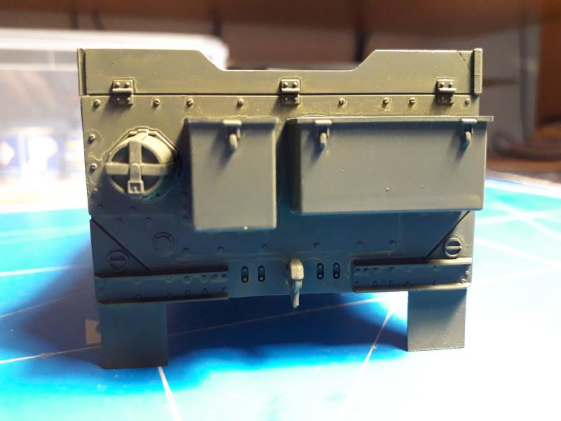 U.S. Multiple Gun Motor Carriage M16 1/35 Tamiya  FINI !!!!!!!! 2310