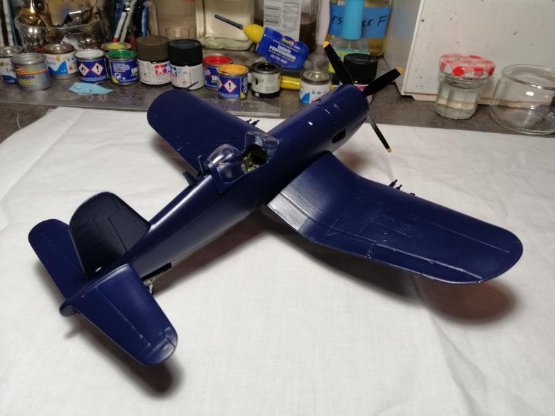CORSAIR AU-1 Heller 1/48 FINI !!!!!! 2337
