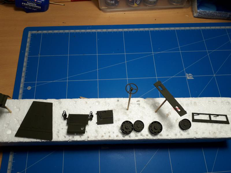 U.S. Multiple Gun Motor Carriage M16 1/35 Tamiya  FINI !!!!!!!! 2410