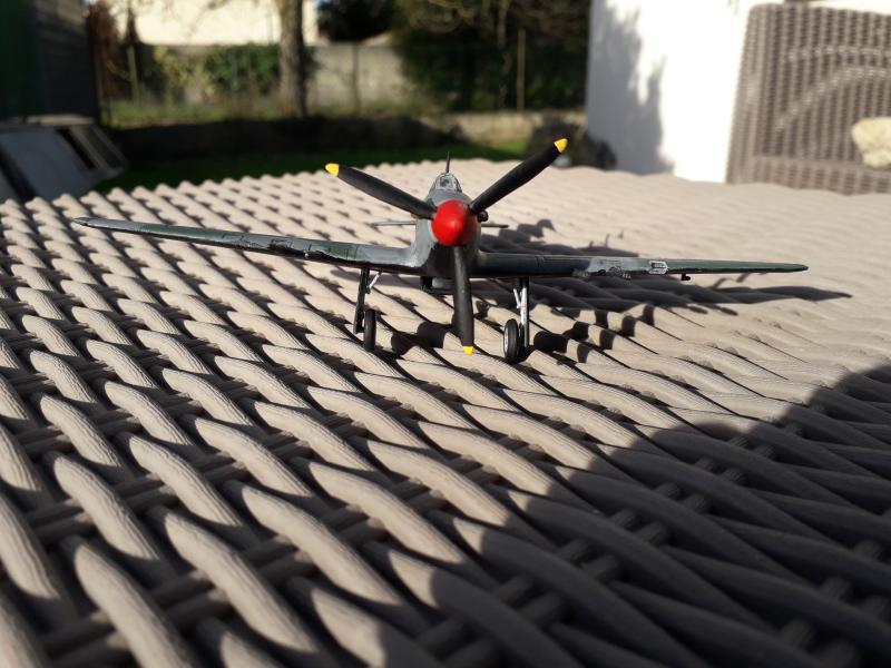 PK -11 Hawlker Hurricane IIC 1/72 Matchbox FINI!!!!!!! 2411