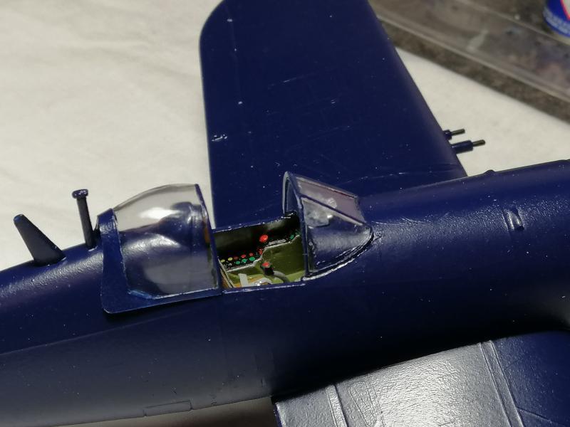 CORSAIR AU-1 Heller 1/48 FINI !!!!!! 2436