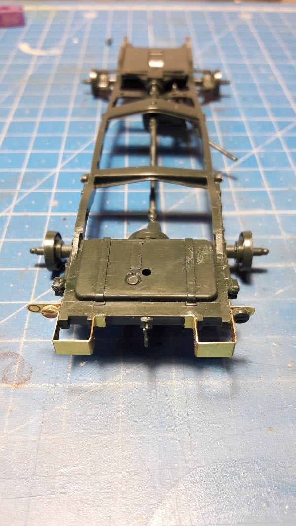 Dodge ambulance WC 54 1/35 Italier iVraiment FINI !!!!!!  244