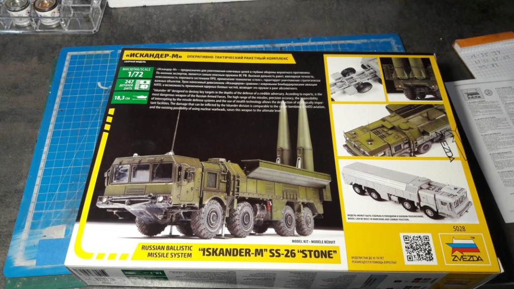 "Ouvre boite ""Iskander-M"" SS-26 ""Stone"" de chez Zvezda au 1/72 245"