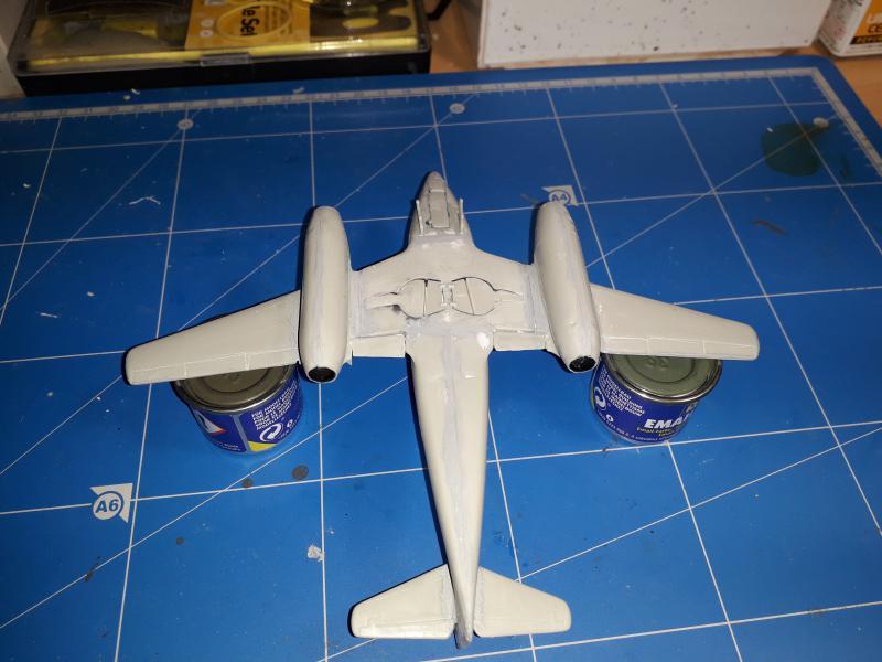Messerscmitt Me 262A-1A 1/72 Revell page2 2613