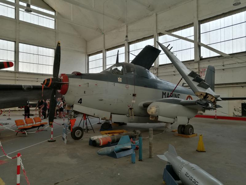 visite du petit musée de l'aéronaval de Rochefort 262