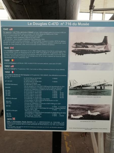 visite du petit musée de l'aéronaval de Rochefort 265