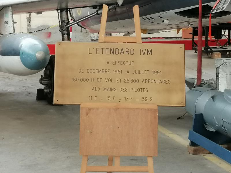 visite du petit musée de l'aéronaval de Rochefort 266