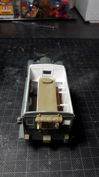 Fil rouge 2019 : Model T ambulance 1917 1/35 de chez ICM *** Terminé en pg 3 - Page 2 2715