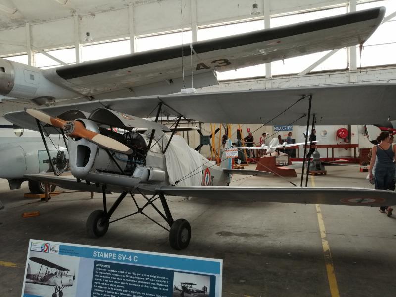 visite du petit musée de l'aéronaval de Rochefort 273