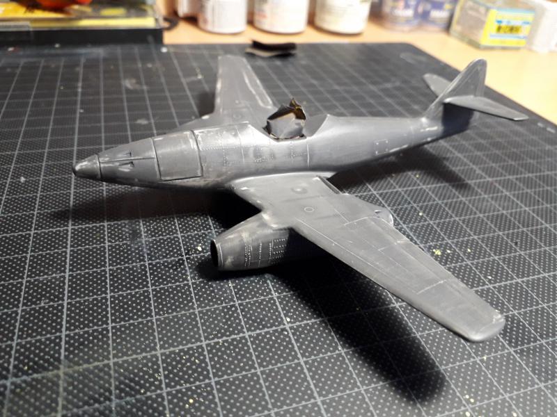 Messerscmitt Me 262A-1A 1/72 Revell page2 2911