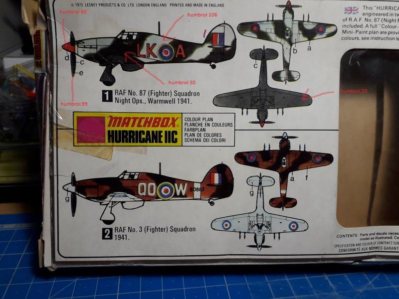 PK -11 Hawlker Hurricane IIC 1/72 Matchbox FINI!!!!!!! 2a10