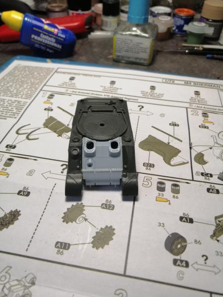 Préparation futur diorama WW2 au 1/72 3036
