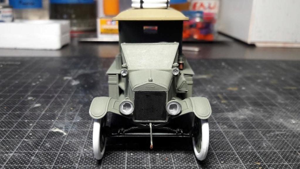Fil rouge 2019 : Model T ambulance 1917 1/35 de chez ICM *** Terminé en pg 3 - Page 2 3114