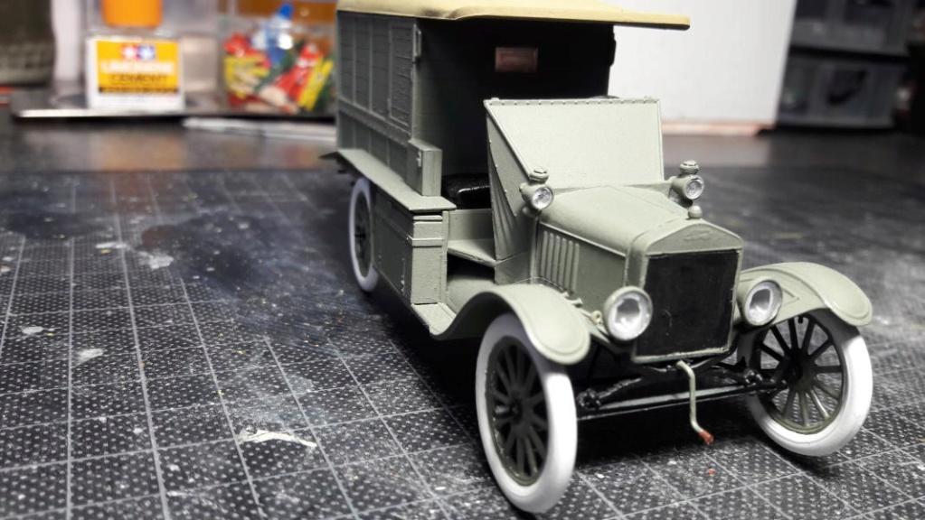 Fil rouge 2019 : Model T ambulance 1917 1/35 de chez ICM *** Terminé en pg 3 - Page 2 3214