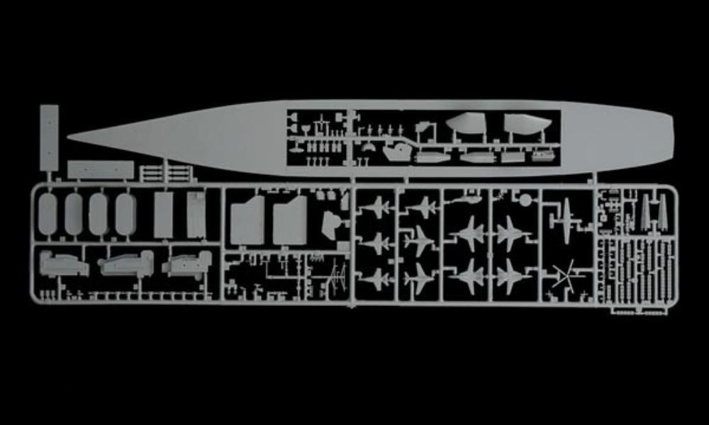 Ouvre boite U.S.S GEORGE H.W. BUSH CVN-77 ITALERI 1/720 331
