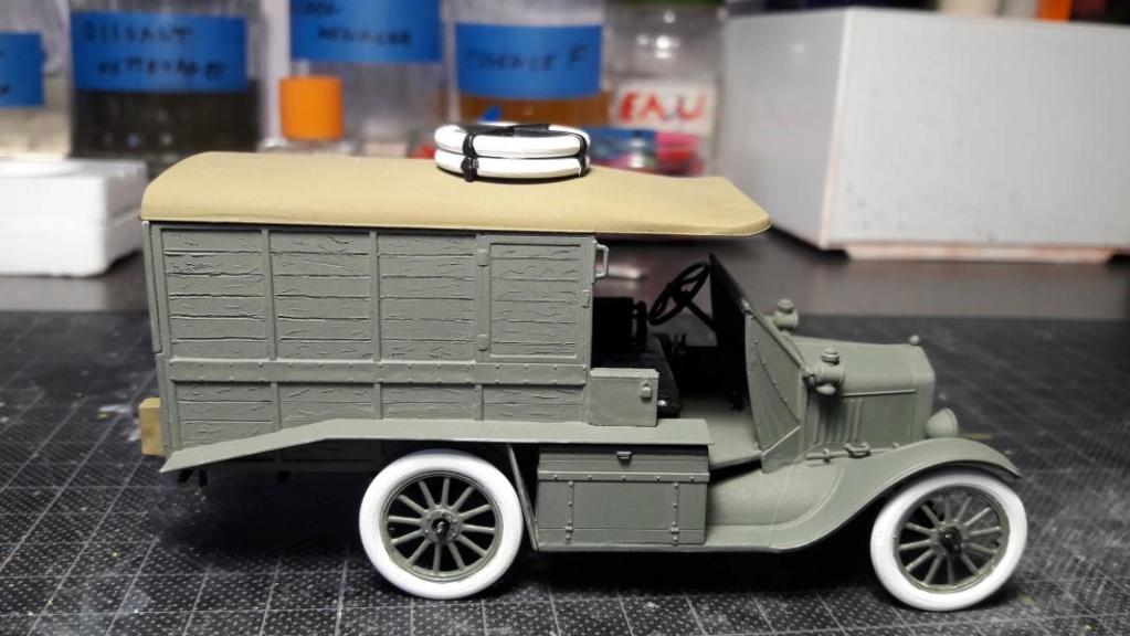 Fil rouge 2019 : Model T ambulance 1917 1/35 de chez ICM *** Terminé en pg 3 - Page 2 3315
