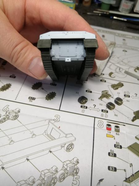 Préparation futur diorama WW2 au 1/72 3336