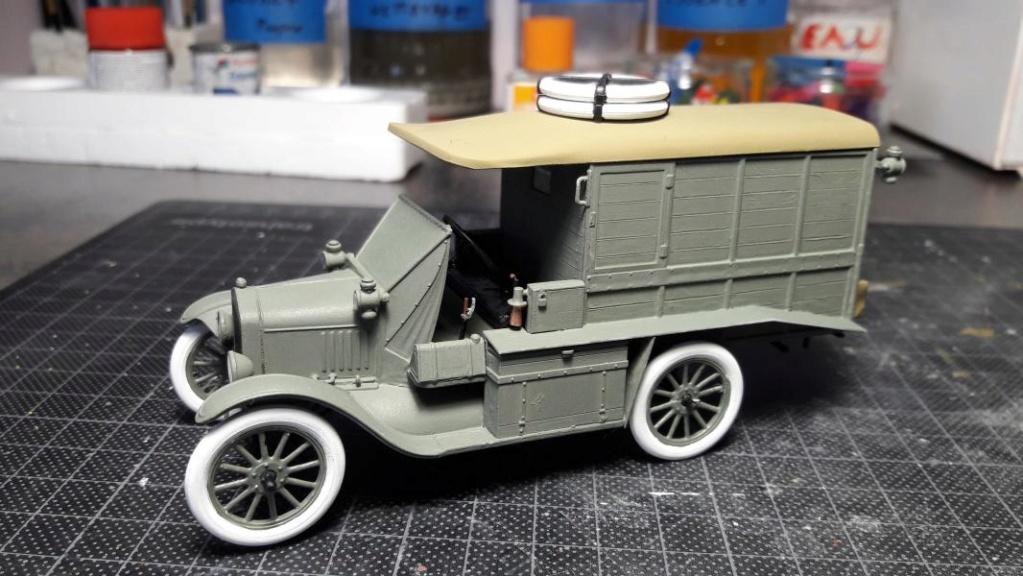 Fil rouge 2019 : Model T ambulance 1917 1/35 de chez ICM *** Terminé en pg 3 - Page 2 3414