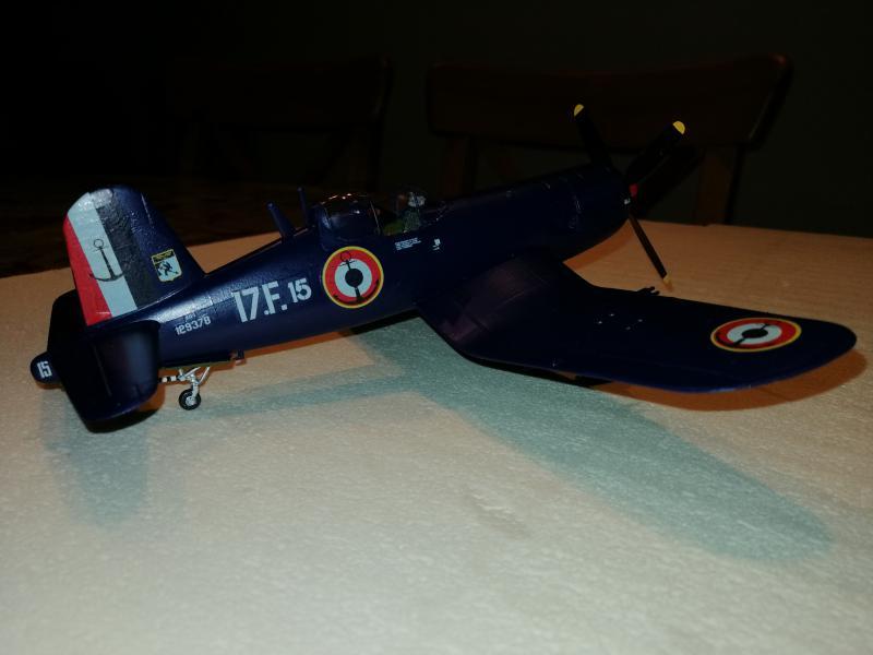 CORSAIR AU-1 Heller 1/48 FINI !!!!!! 3428