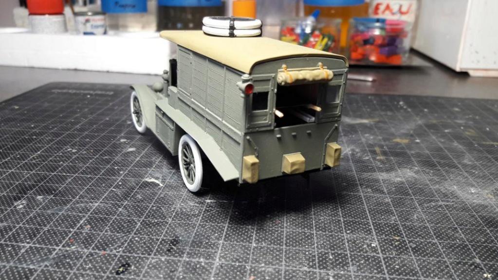 Fil rouge 2019 : Model T ambulance 1917 1/35 de chez ICM *** Terminé en pg 3 - Page 2 3514