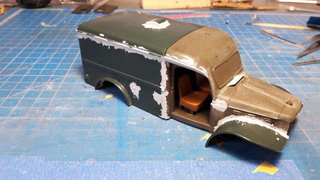 Dodge ambulance WC 54 1/35 Italieri 3518