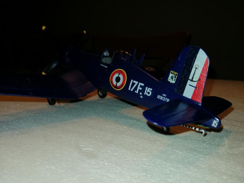 CORSAIR AU-1 Heller 1/48 FINI !!!!!! 3530