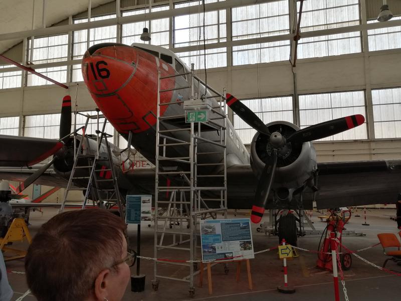 visite du petit musée de l'aéronaval de Rochefort 360