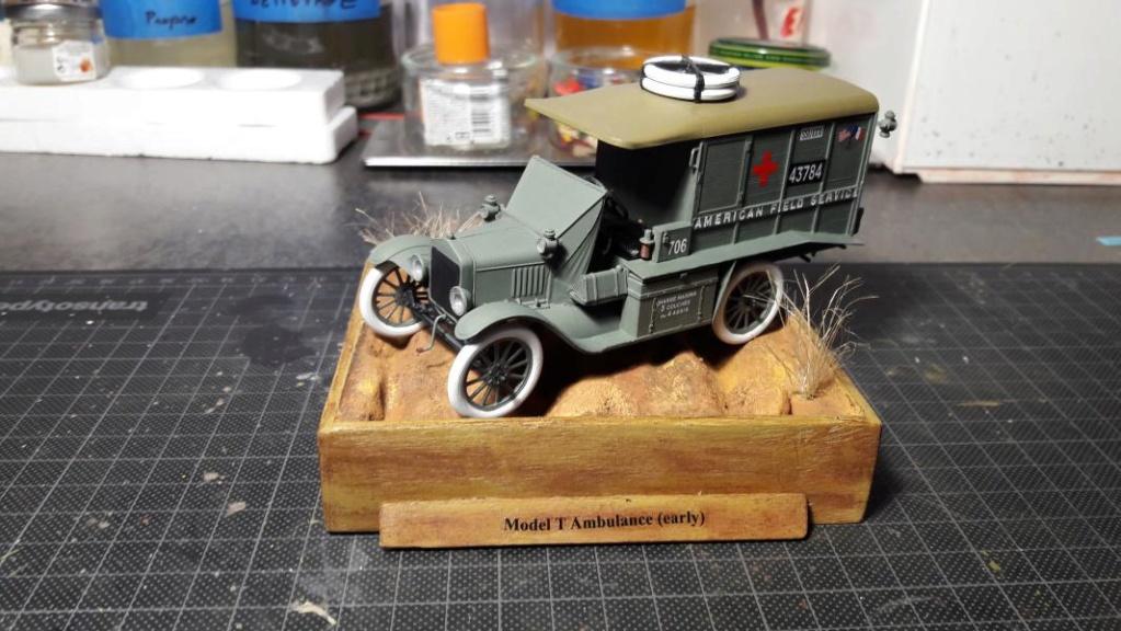 Fil rouge 2019 : Model T ambulance 1917 1/35 de chez ICM *** Terminé en pg 3 - Page 2 3613
